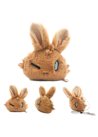 Arknights | CHOSHANLand Rabbit Plushie Coin Purse | 朝陇山兔毛绒零钱包
