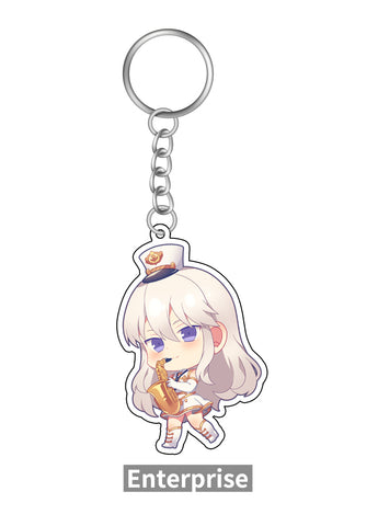 Azur Lane | Anniversary Band Key Charm | 军乐队钥匙扣