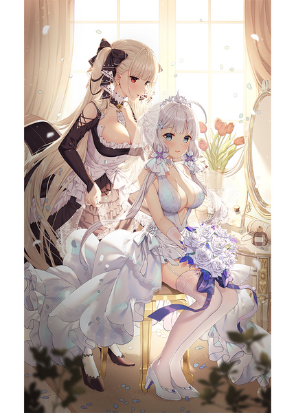 Details about  /New HMS Unicorn Anime Azur Lane HD Home Wall Decoration Scroll Poster 90CM #033