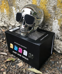 Just Love Skulls Speaker - Glass Edition