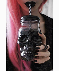 Gothic Skull Glass - Special Deal