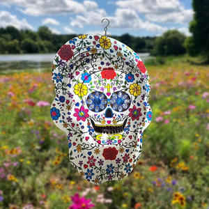 Meadow Skull Wind Spinners