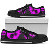 Purple Skulls Women's Low Tops