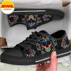 Chaos Skull Women's Low Top Shoe