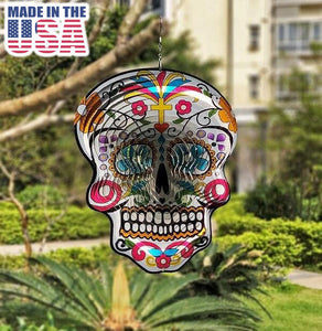 Sugar Skull Wind Spinners - Special Deal