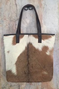 Cow Hide Tote Bags | Different colours to choose from