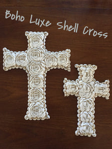 Shell Cross Wall Hanging
