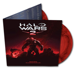 HALO WARS 2 ORIGINAL GAME SOUNDTRACK (LIMITED EDITION-RED MARBLED DOUBLE VINYL)
