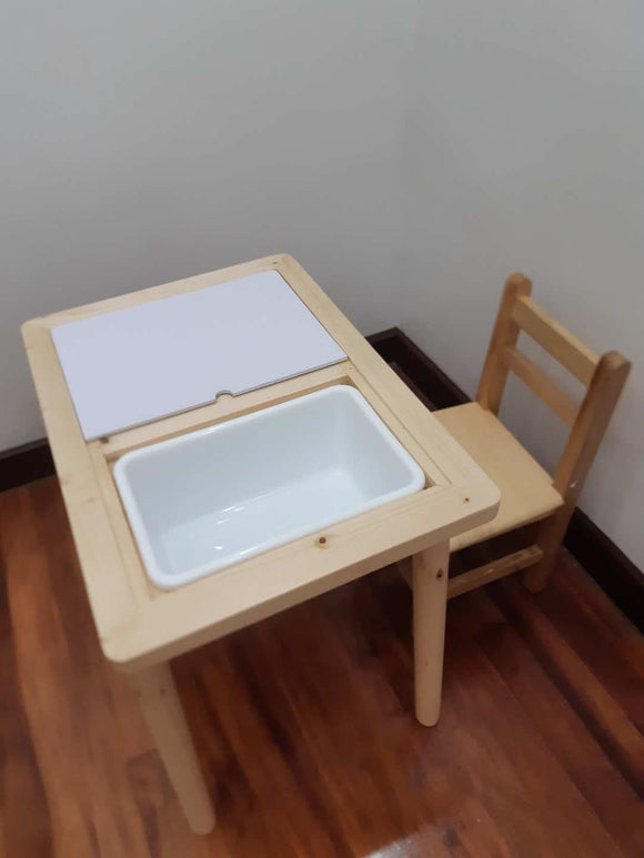 Olive & Cloud Sensory Activity Table
