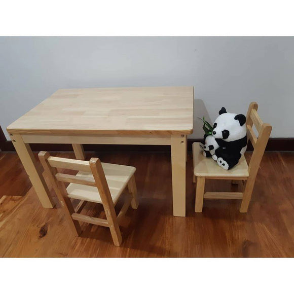 Olive & Cloud Kiddie Table and Chair Set