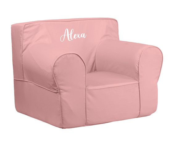 Olive & Cloud Personalized Kids Sofa Chair