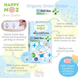 Happy Noz Anti Bac Onion Sticker