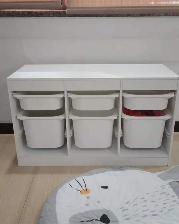 Olive & Cloud Storage with Bins
