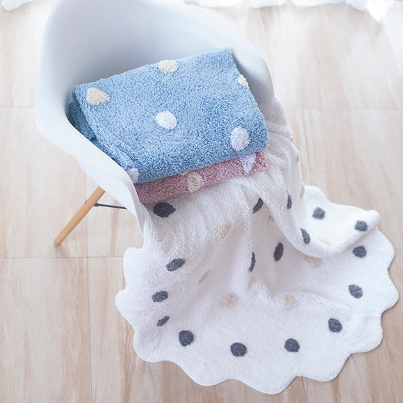 Juju Nursery Dots Cotton Rug Playmat