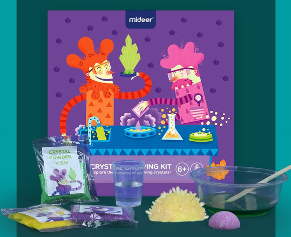 Mideer Science Experiments: Crystal Growing Kit