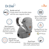 I-Angel Hipseat Carrier - Dr. Dial