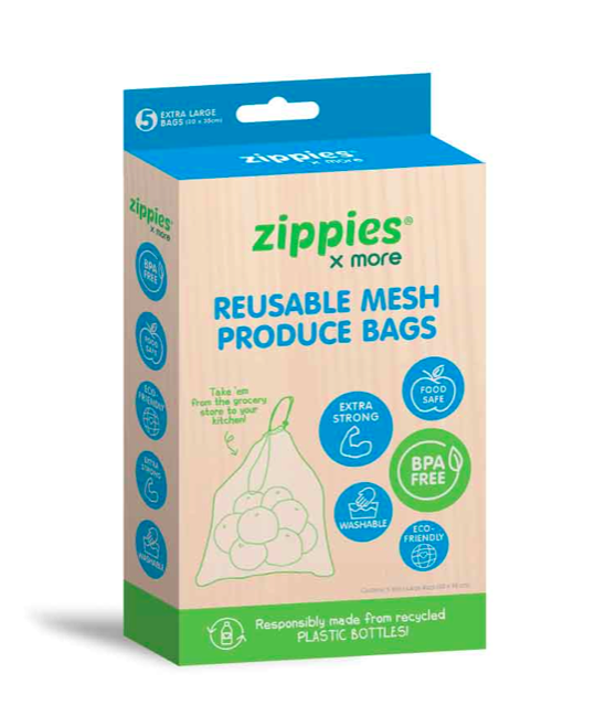 Zippies Reusable Mesh Bag