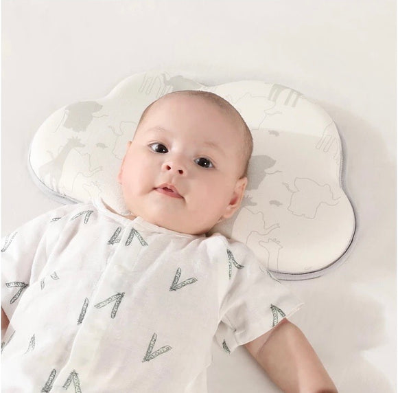 Olive & Cloud Baby Head Shaping Pillow (With Extra Pillow Case)