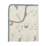 Baa Baa Sheepz Single Layer Bamboo Baby Blanket