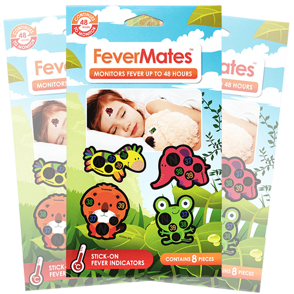 FeverMates Stick On Fever Indicators