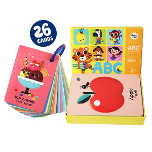 Joan Miro ABC Ring Flashcards