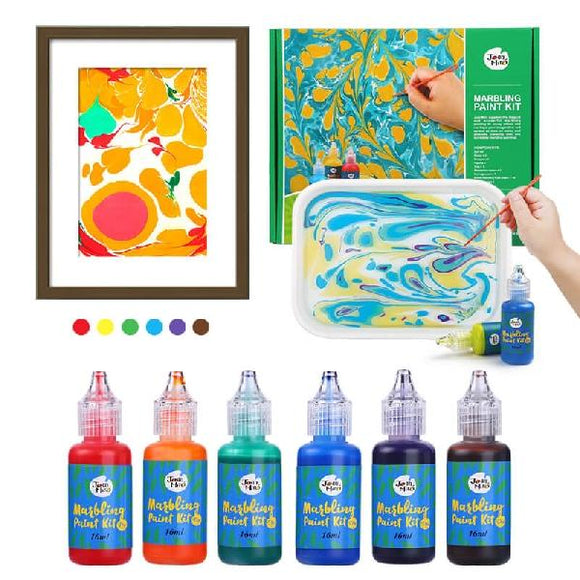 Joan Miro Non-Toxic Marbling Paint Kit