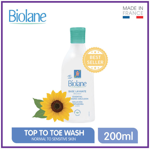 Biolane Essential Cleansing Emulsion 200ml
