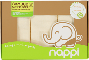 Nappi Baby Gauze Wash Cloth
