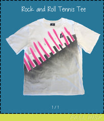 Rock and Roll Tennis Tee