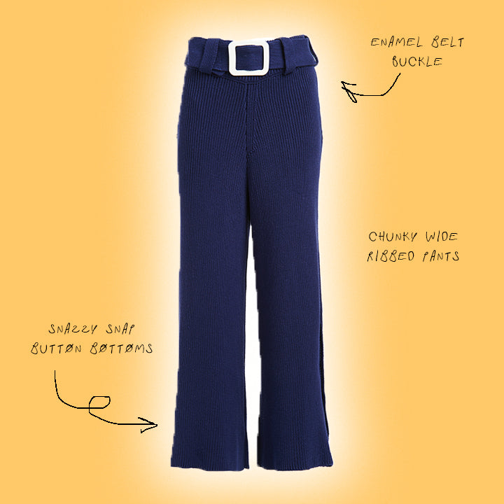 THE BIG RIBBIN' KNIT PANT