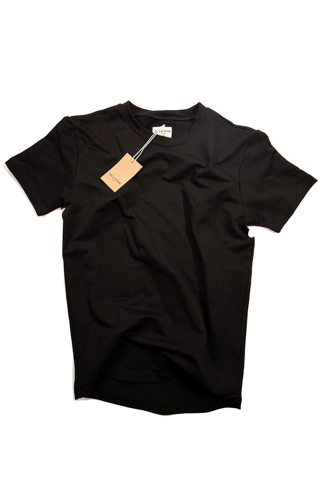 The Classic S/S Tee - Black - Oak & Stone Clothing Co.