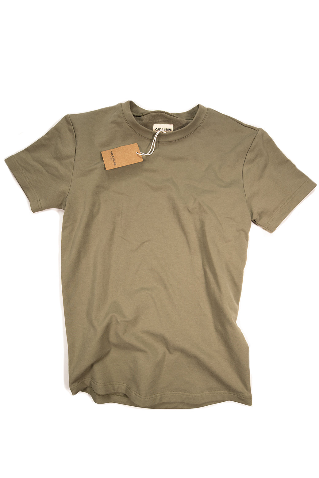 The Classic S/S Tee - Olive - Oak & Stone Clothing Co.