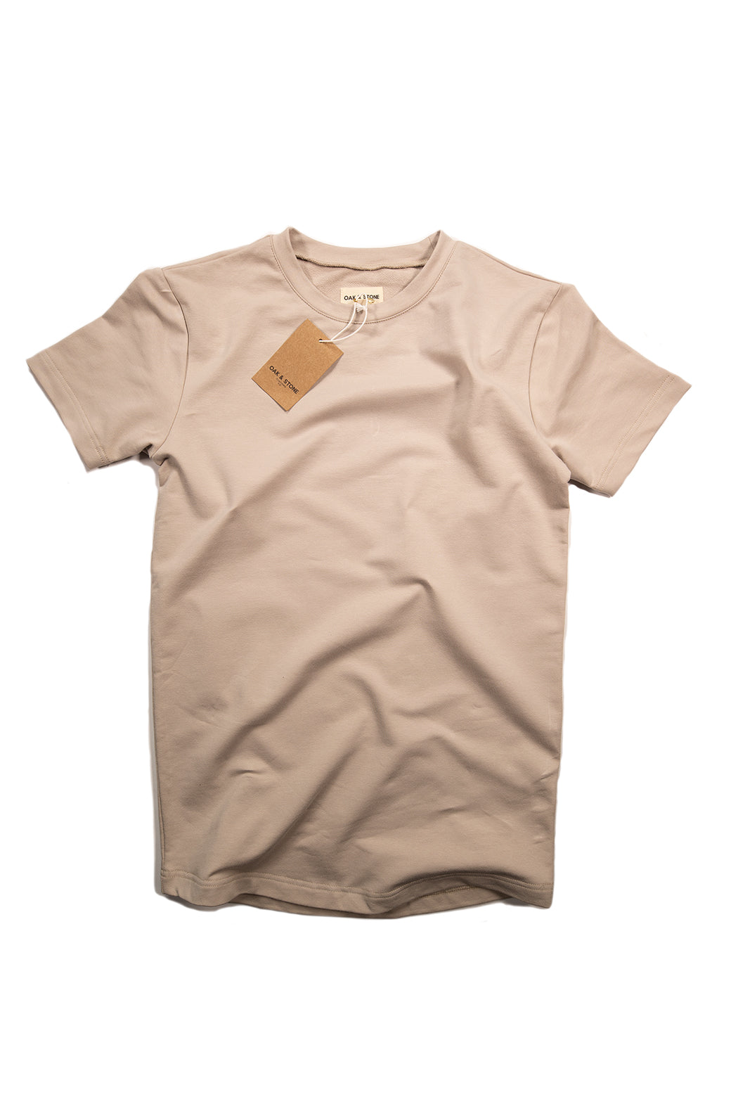 The Classic S/S Tee - Tan - Oak & Stone Clothing Co.