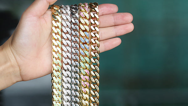 How Do You Choose The Materials of The Cuban Link Chain?