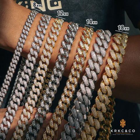 Iced Out Cuban Link Chains