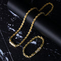 6mm 14K Gold Rope Chain (Cylindrical Lock)-krkcom