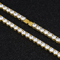 3mm Tennis Bracelet in 14K Gold-krkcom