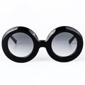 Black Hip-Hop Round Sunglasses KR1015-krkcom