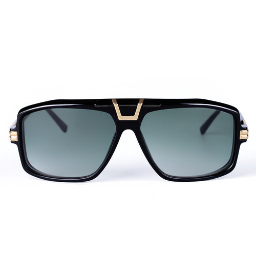 (Presale)Black Oversized Square Sunglasses KR1001-krkcom