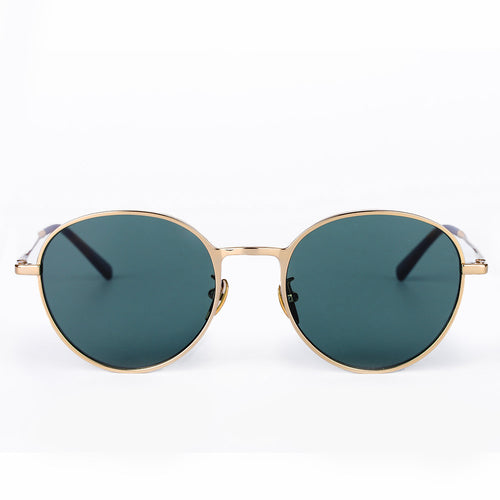 Men's Retro Round Navigator Sunglasses KR1008-krkcom