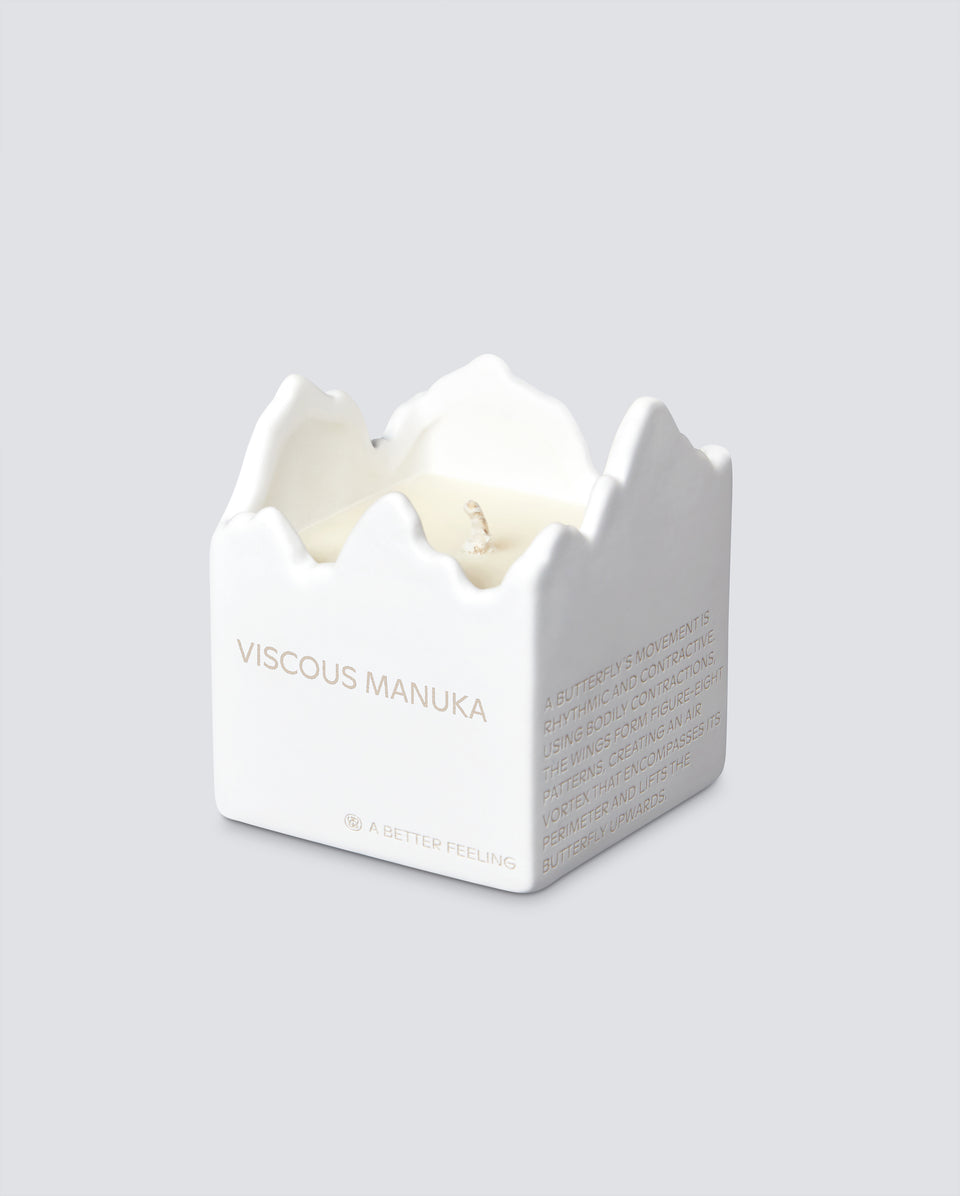 VISCOUS MANUKA CERAMIC CANDLE