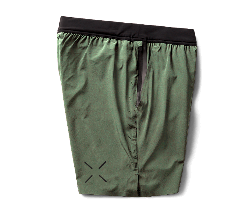 Interval Short - Army Green/Neon