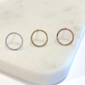 Circle Round Earrings