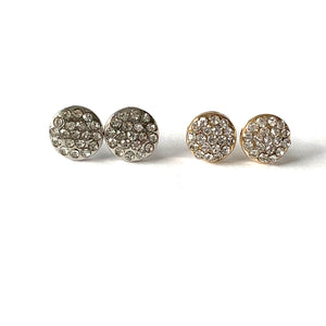 Round Sparkle Earring