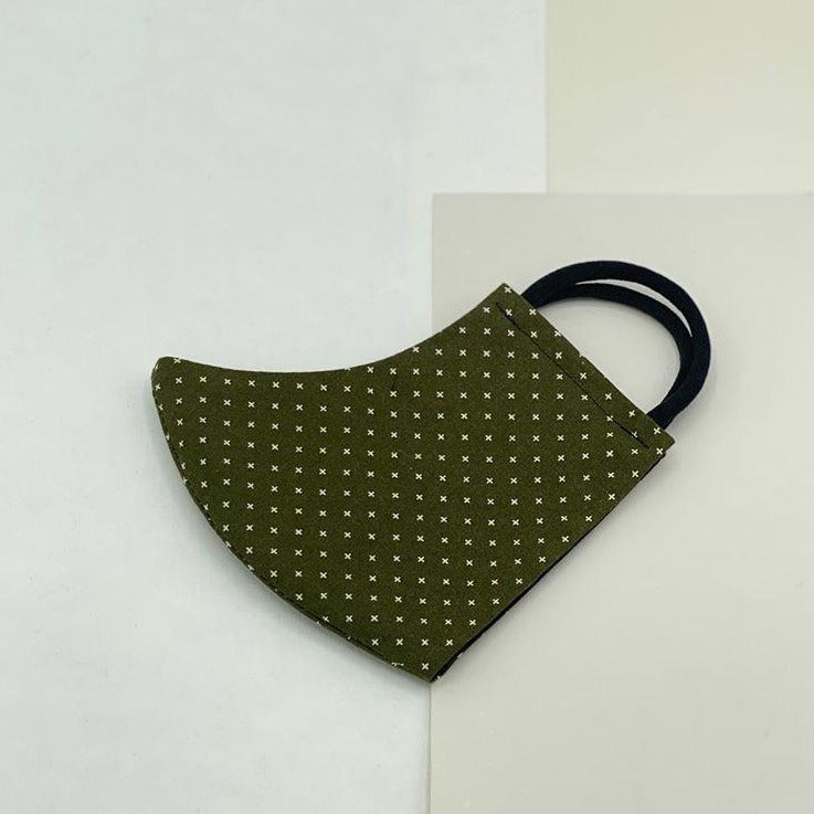 Cival face mask, in Olive