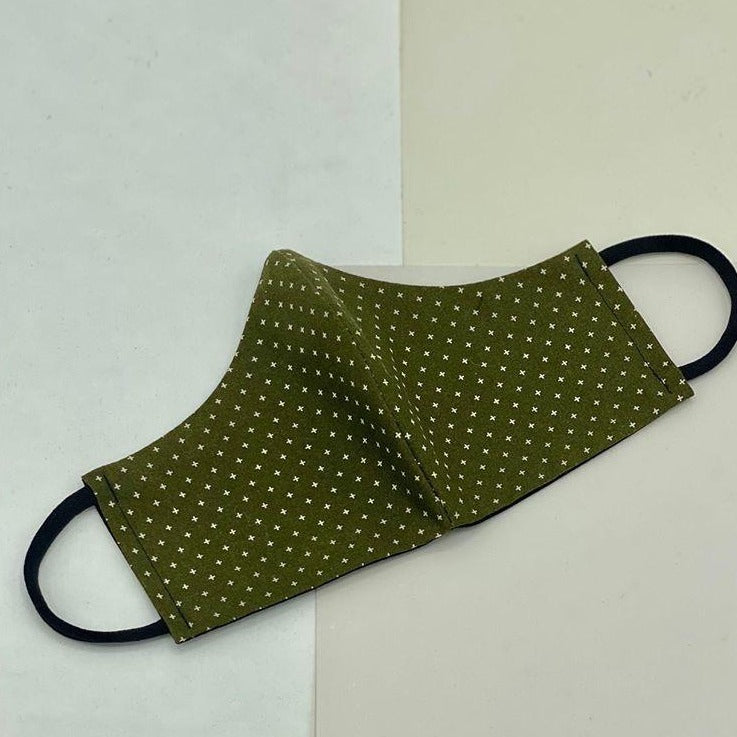 Cival face mask in olive