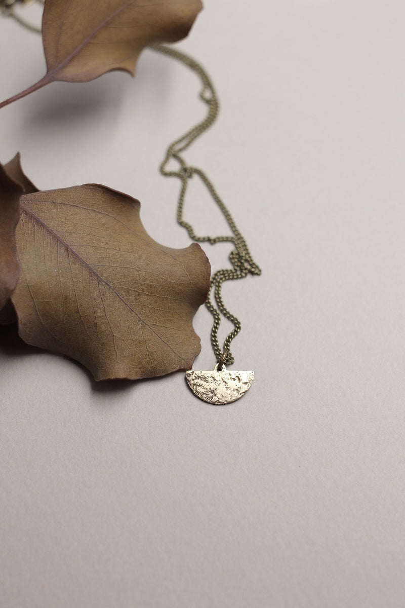 Simplistic modern necklace made by Cival Collective.