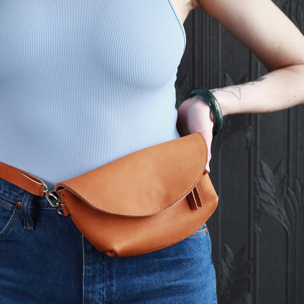 Leather Hip Bag from Jackalope Milk
