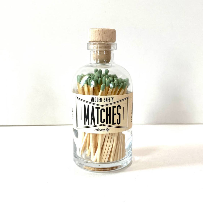 Mini Vintage Apothecary Matches from Made Market Co.