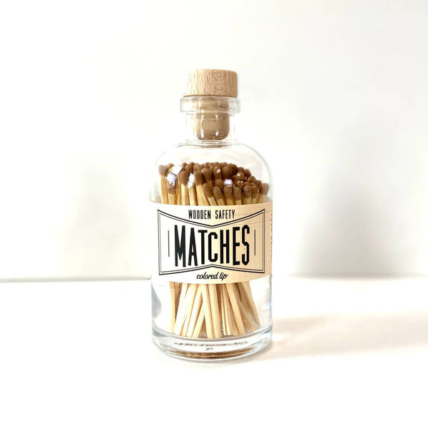 Vintage Apothecary Matches Medium Jar from Made Market Co.